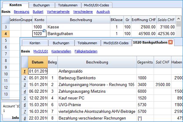 Charakteristiken Banana 8 | Banana Accounting Software