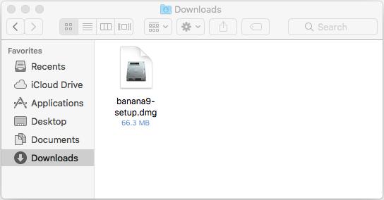 Installing under Mac | Banana Accounting Software