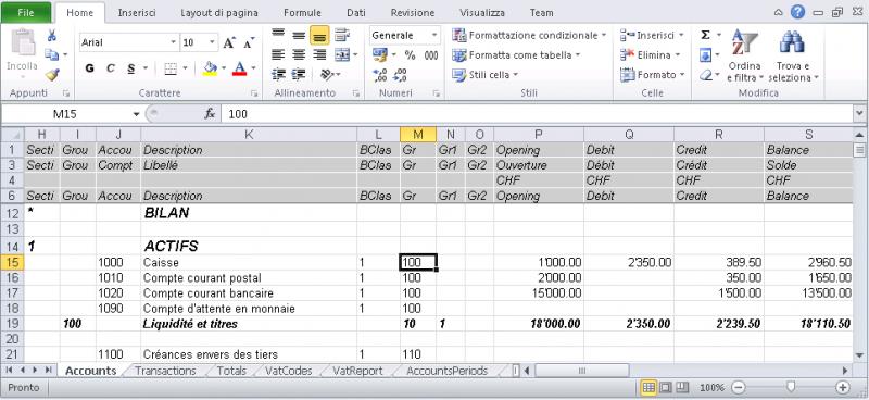 Exporter En Excel Banana Comptabilite Software